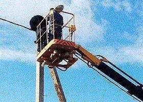работа с проводами и установка камер видеонаблюдения